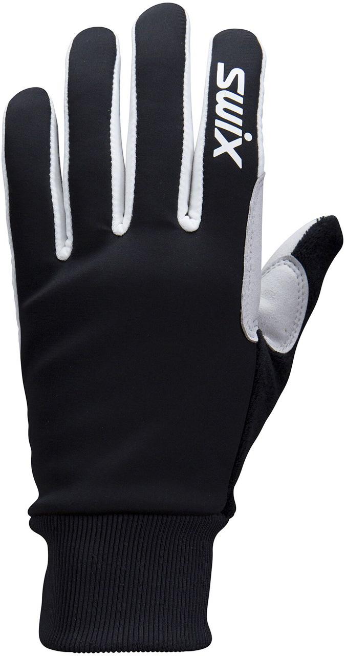 Перчатки Лыжные перчатки Swix Tracx чёрный h0280-10000.jpg