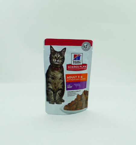 Hill's пауч для кошек (говядина) 85г