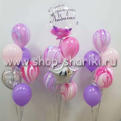 Оформление на день рождения девочке