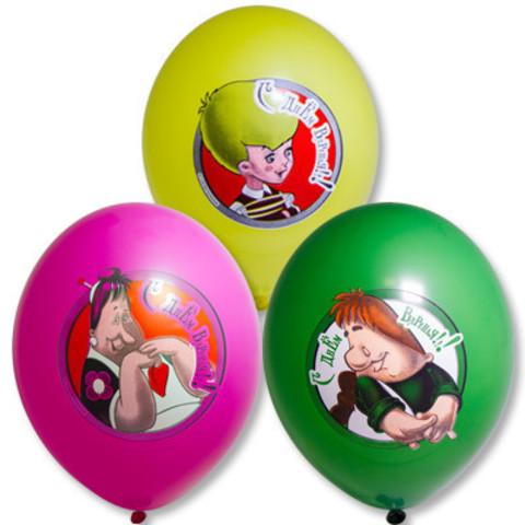 Воздушные шары Карлсон и малыш