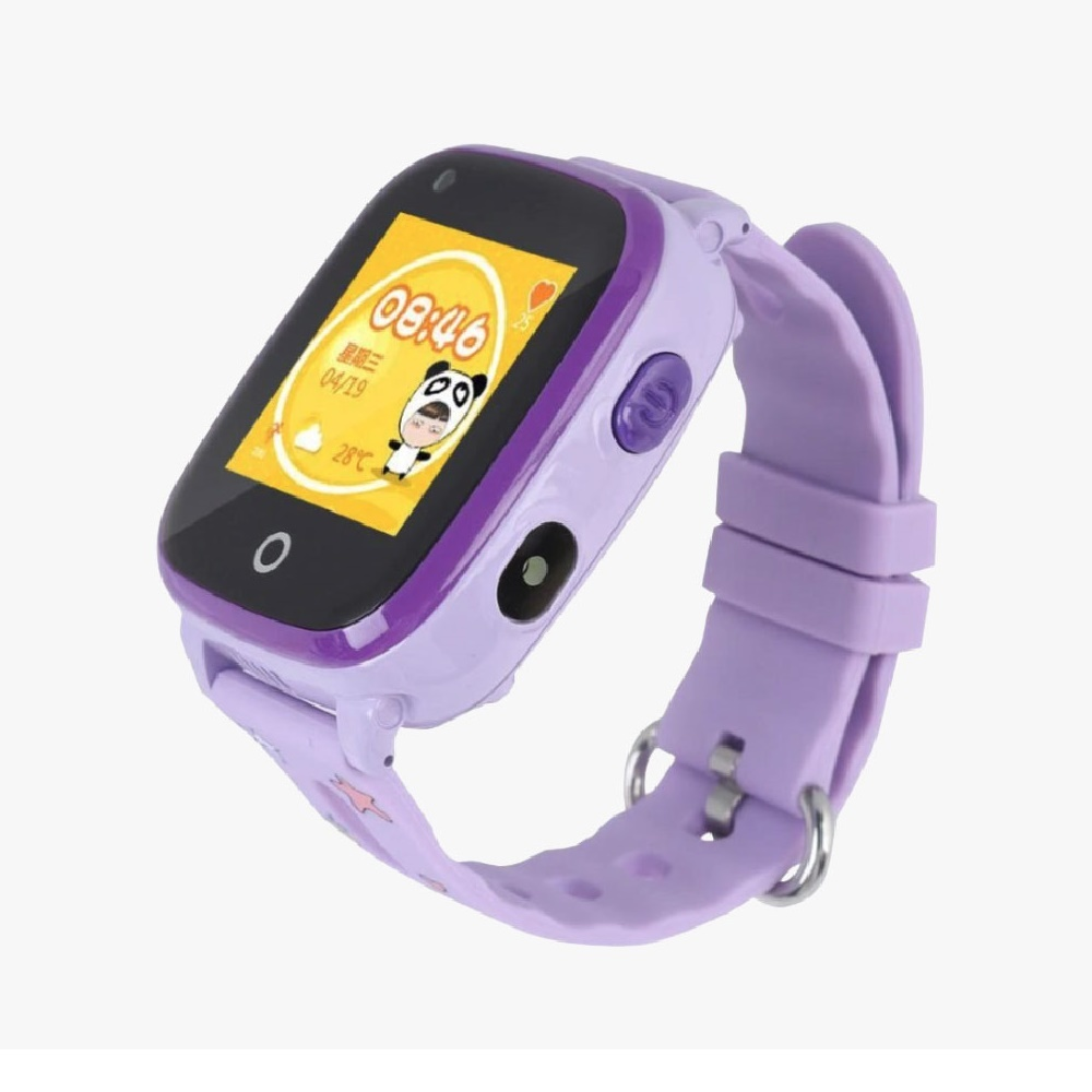 Smart Baby Watch DF33 / Q500 фиолетовый