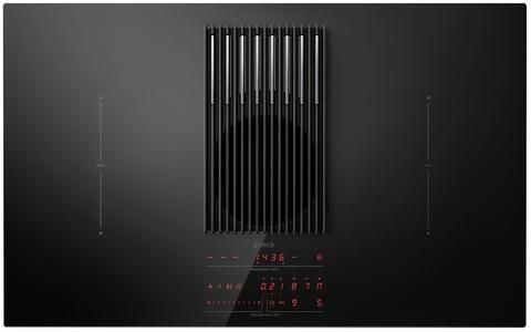 Индукционная варочная панель со встроенной вытяжкой Elica NikolaTesla LIBRA BL/A/83