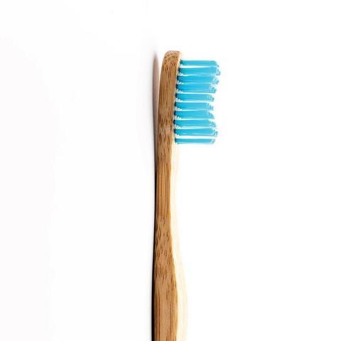 Зубная щетка для взрослых Humble Brush Adult (Голубая, средняя жесткость)