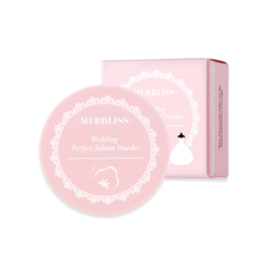 Пудра MERBLISS Wedding Perfect Sebum Powder 5g