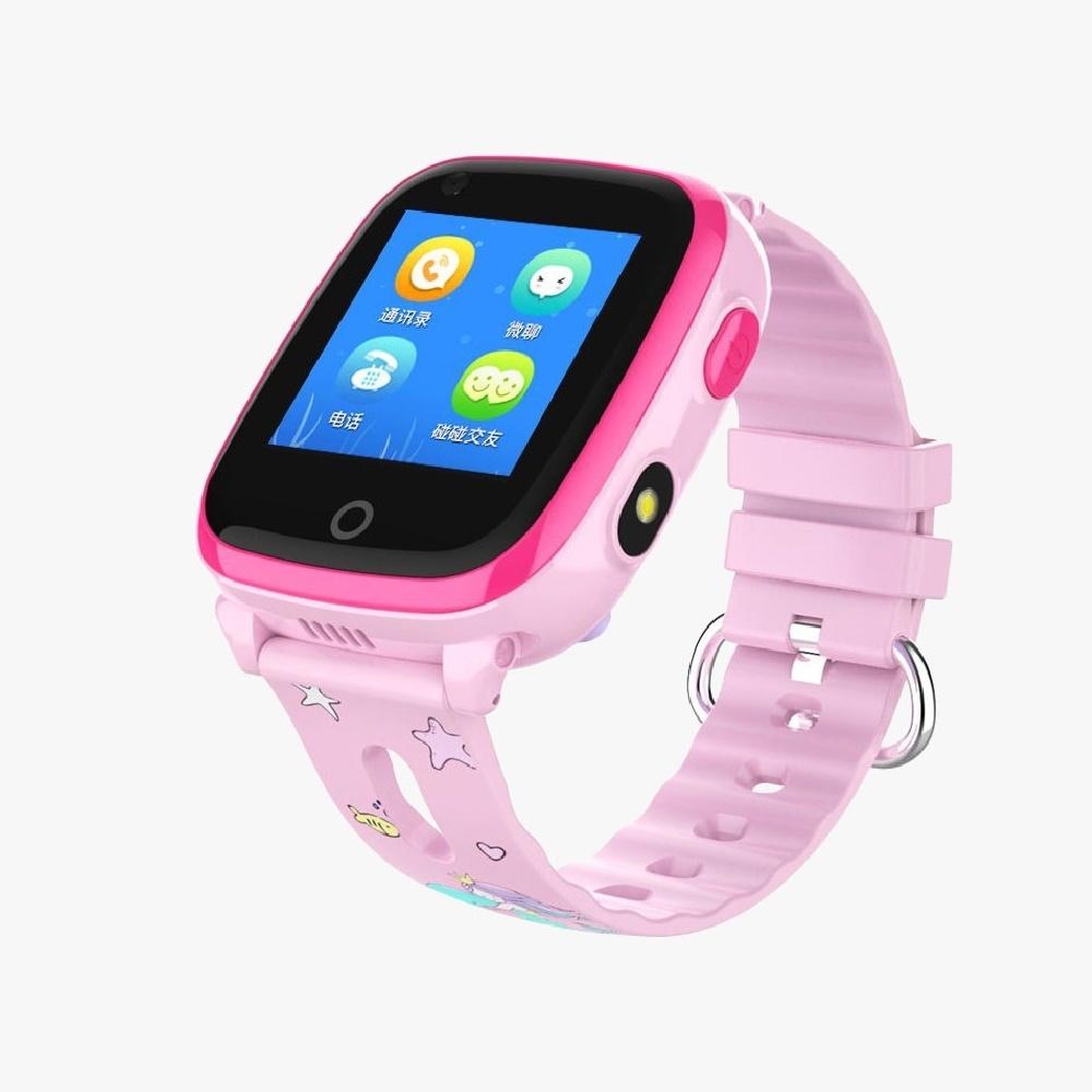 Smart Baby Watch DF33 / Q500 розовый