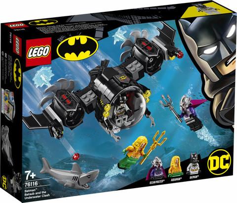 LEGO Super Heroes: Подводный бой Бэтмена 76116 — Batsub and the Underwater Clash — Лего Супер Герои ДиСи