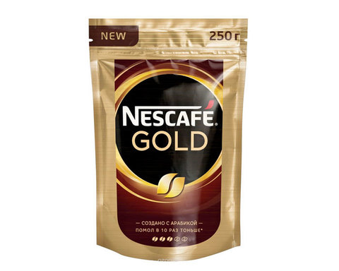 купить Кофе растворимый Nescafe Gold, 250 г