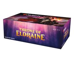 Дисплей бустеров выпуска «Throne of Eldraine» (английский)