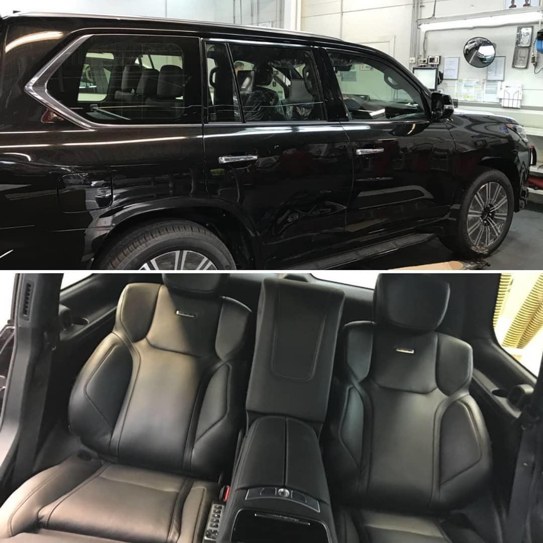 Cиденья MBS Smart Seats для Lexus LX570