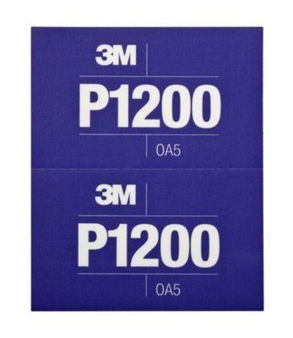3М Лист абразивный гибкий Р1200 34432