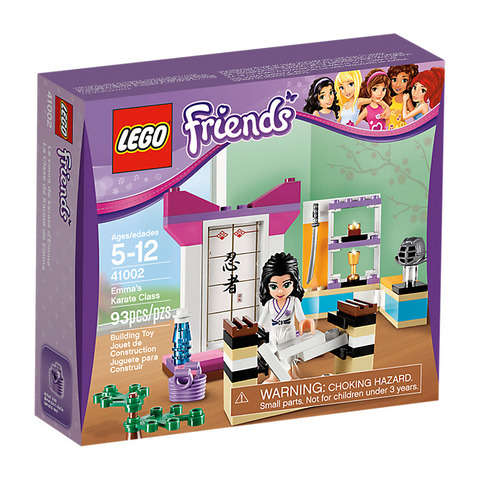 LEGO Friends: Эмма-каратистка 41002 — Emma's Karate Class — Лего Френдз Друзья Подружки