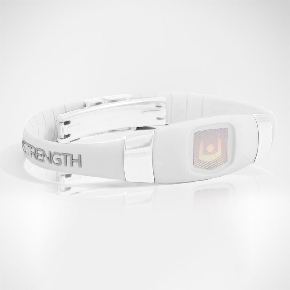 Браслет PureStrength Elite 1s серия белый/серый