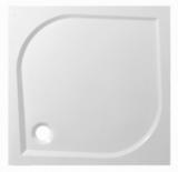 Поддон из литьевого мрамора Эстет Гамма 80x80 квадратный