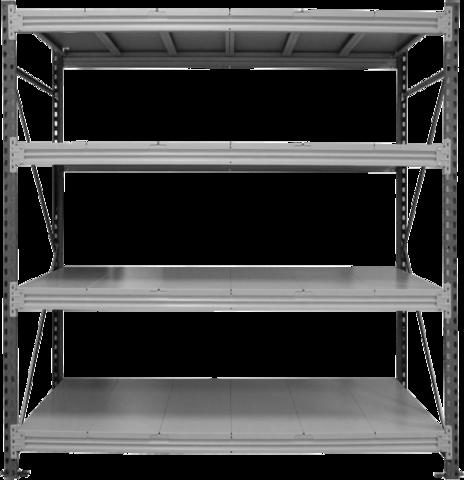 Стеллаж балочный (быстросборный) 05.T2008, 2,0м,TITAN
