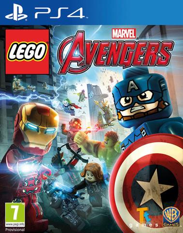 PS4 LEGO: Marvel Мстители (русские субтитры)