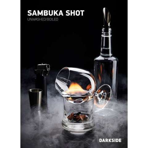 Табак Dark Side 100 г SOFT Sambuka Shot