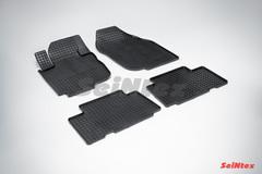 """Резиновые коврики """"Сетка"""" для Toyota RAV4 (2006-2012)"""