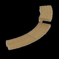 Фото - Монтажные элементы: Монтажный фланец SAWO TH-COLLAR-W4-CNR-D (для печи TOWER TH4, TH5, ARI3, PNX3 & DRFT3, угловой, кедр) ограждения и коврики коврик деревянный на пол sawo 595 d cnr угловой