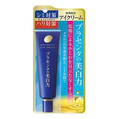Meishoku Placenta Whitening Eye Cream - Крем с экстрактом плаценты для глаз