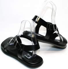 Мужские сандали босоножки Roberto Verbano 74609 Black.