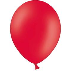 К 5''/13 см, Красный, пастель, / 100 шт. /