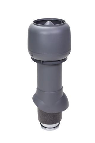 Вентиляционный выход 125 из 500 Vilpe серый