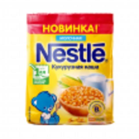 Nestlé® Каша кукурузная 1 ступень 200 г молочная мягкая упаковка