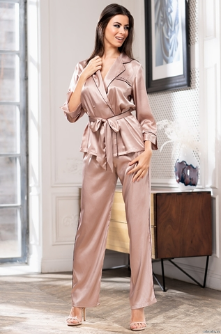 Комплект брючный шелковый Mia-Amore GABRIELLA Габриэлла 3666