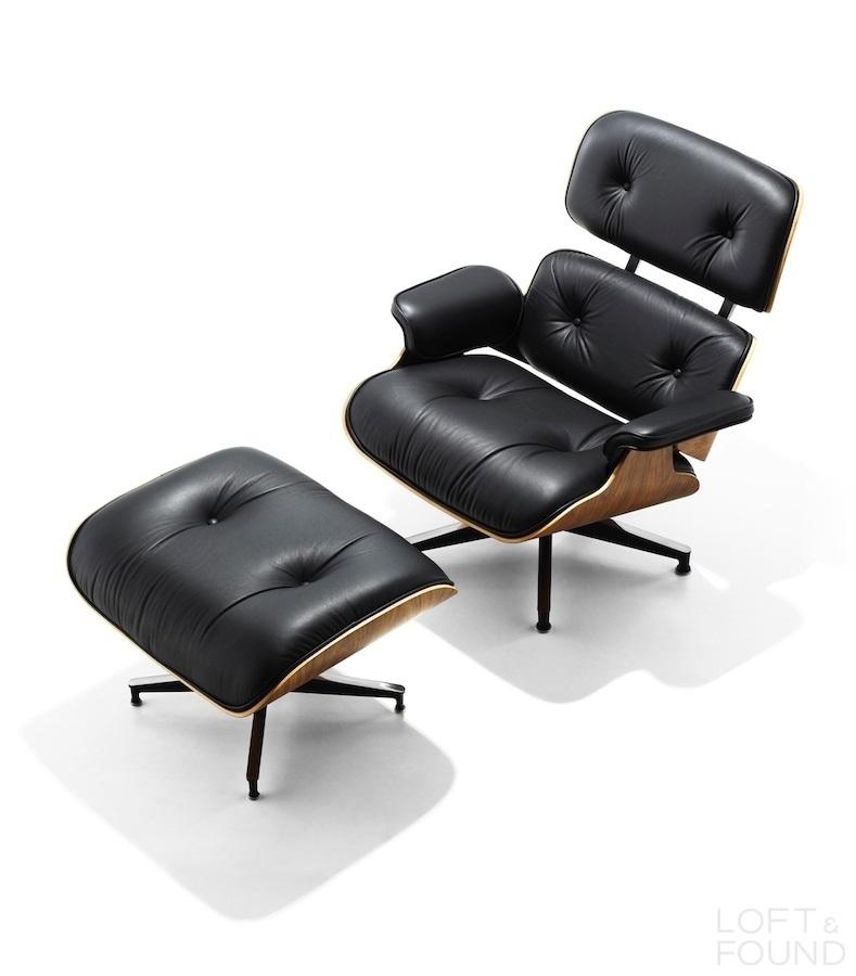 Кресло и оттоманка Eames Lounge Chair