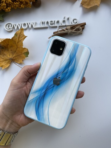 Чехол iPhone 11 Pro Polaris smoke Case Logo /blue/