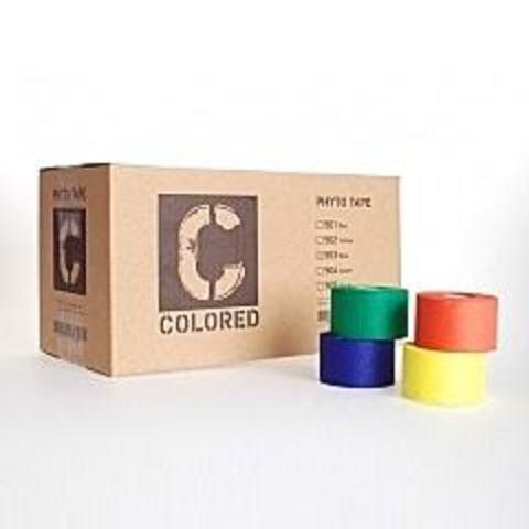 502 тейп Phyto tape желтый 3,8 см * 13,7 м (32 рулона)