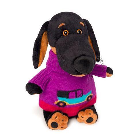 Пес Ваксон в свитере с машинкой