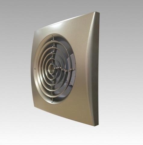 Накладной вентилятор Эра AURA 4C CHAMPAGNE D100 с обратным клапаном
