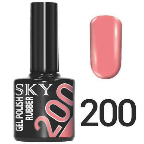 Sky Гель-лак трёхфазный тон №200 10мл