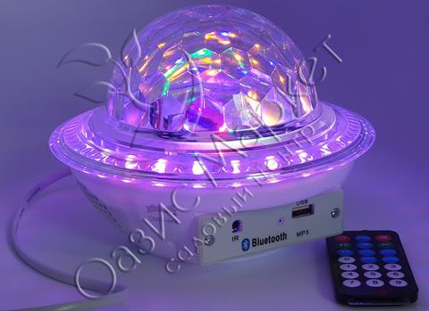 Музыкальный mp3 светящийся мяч CMR-M8 с bluetooth