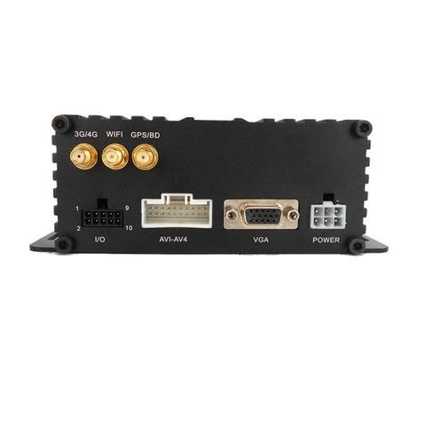 4-х канальный AHD видеорегистратор для транспорта NSCAR401HD_SD (4G+GPS+WiFi)