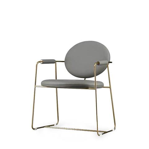 Стул-кресло Gemma by Baxter (серый)