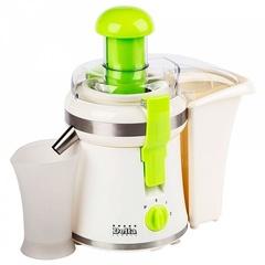 Соковыжималка электрическая  DELTA DL-0231 бело-зеленая