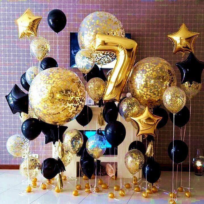 Фотозоны из шаров Оформление фотозоны шарами Черно Золотое t_AHkK9oOe4_enl.jpg