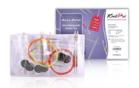 KnitPro Набор спиц Starter Set Nova Metal 10604