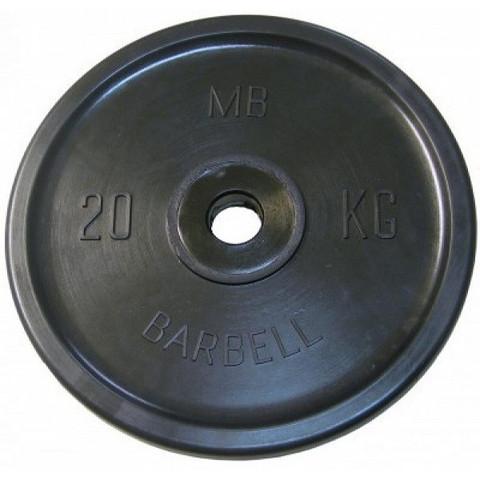 Диск Barbell Euro-Classic 15 кг (51 мм)