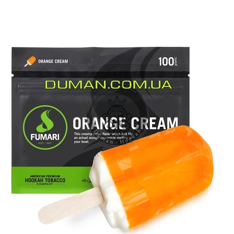 Табак Fumari Orange Cream (Фумари Апельсиновое Мороженое)