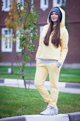 штаны желтые SASHA JUNIOR