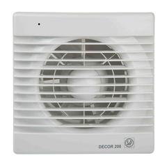 Вентилятор накладной S&P Decor 200 CR (таймер)