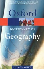 Oxf Dict of Geography 3Ed