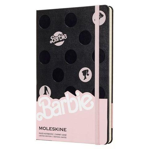 Блокнот Moleskine Limited Edition BARBIE LEBRQP060 Large 130х210мм 240стр. линейка Dots