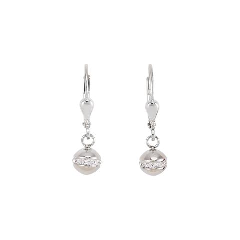 Серьги Coeur de Lion 4971/20-1700 цвет серебряный, серый