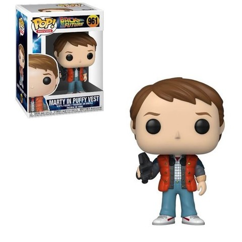 Marty in Puffy Vest Funko Pop! || Марти в жилете (Back to the Future)