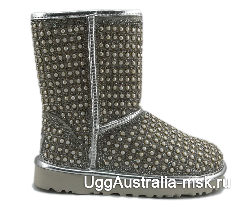UGG Classic Short Pearl Silver