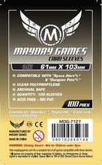 Протекторы для настольных игр Mayday Magnum Space Alert / Dungeon Petz Size (61x103) - 100 штук